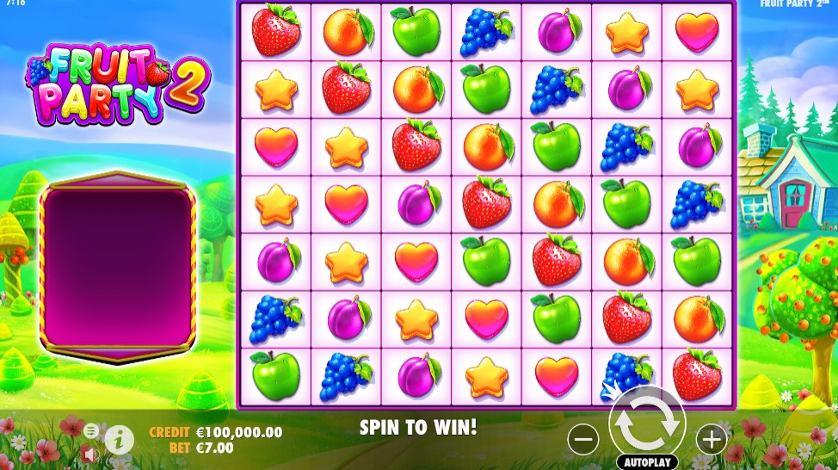 ทดลองเล่น Fruit Party 2